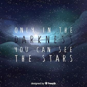 Cita con concepto de galaxia