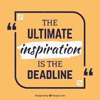 Cita de diseño gráfico con mensaje inspirador