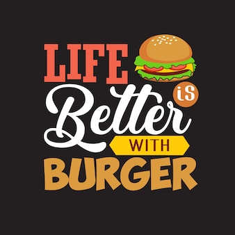 Cita de hamburguesa y diciendo