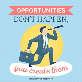 Cita inspiradora sobre las oportunidades