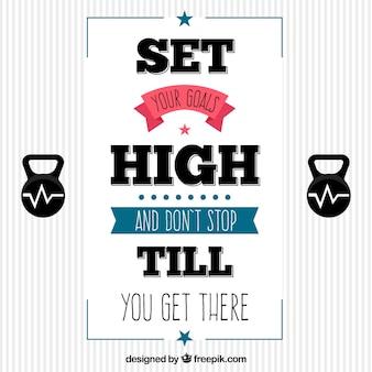 Cita motivadora para conseguir tus metas