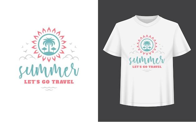 La cita o el dicho de verano se pueden utilizar para superposiciones de fotos de tarjetas de felicitación de tazas de camisetas