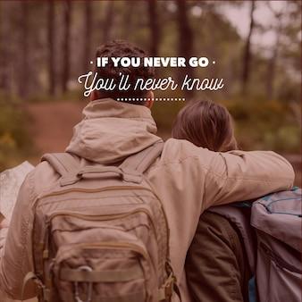 Cita positiva de aventura
