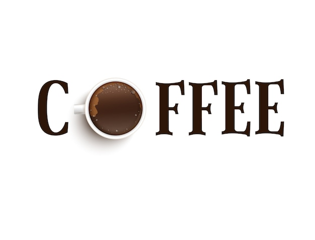 Una cita con una taza de café.