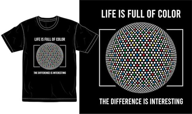 Citar camiseta diseño gráfico vectorial