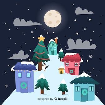Ciudad navideña
