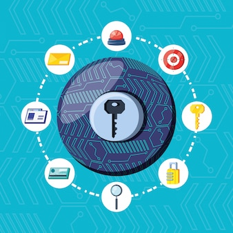 Clave en el ámbito de la seguridad cibernética
