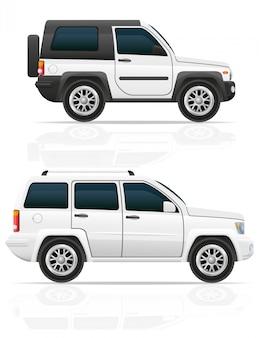 Coche jeep todoterreno