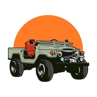 Coche jeep