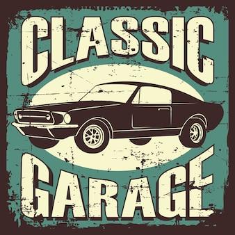 Coche signage garage