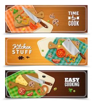 Cocina banners horizontales