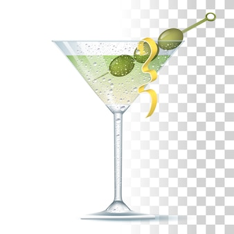 Cóctel vodka martini