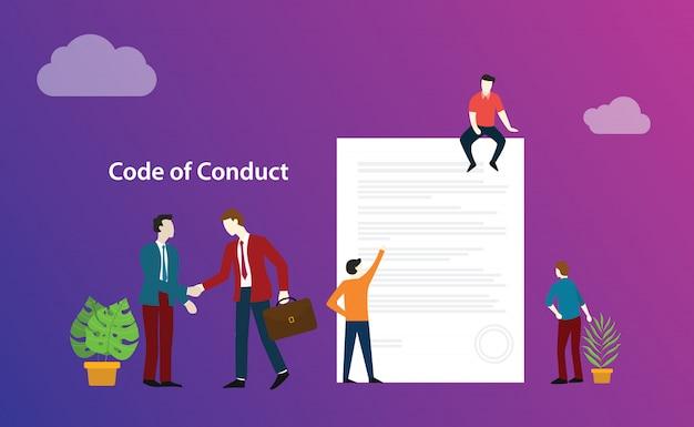 Código de conducta acuerdo comercial