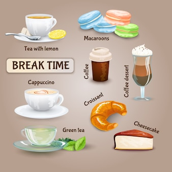 Coffee break set