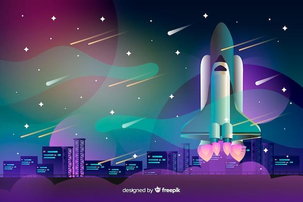 Cohete gradiente