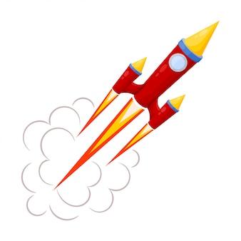Cohete rojo