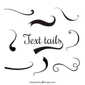 Colas de texto