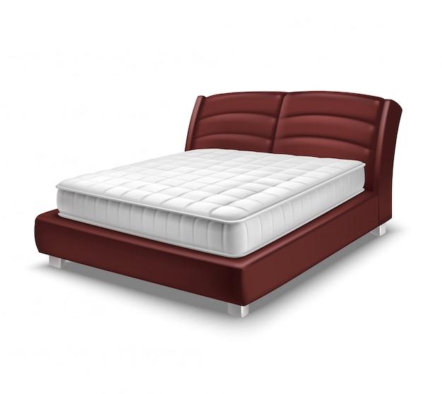 Colchón cama realista
