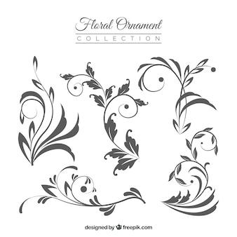 Colección adornos florales