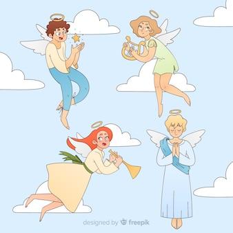 Colección ángeles anime navidad