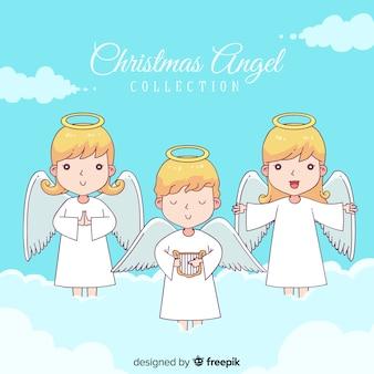 Colección ángeles navidad