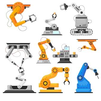 Colección de armas automáticas industriales