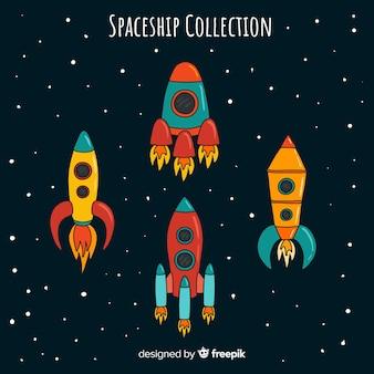 Colección de astronaves