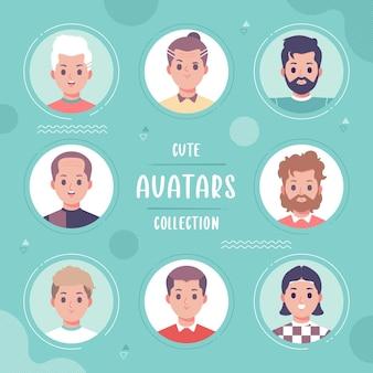 Colección de avatar de personas