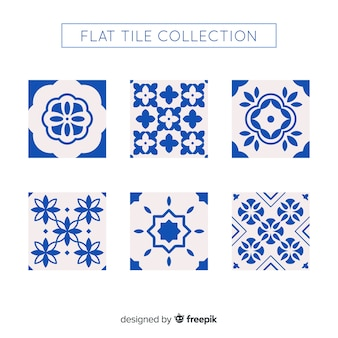 Colección de azulejos talavera