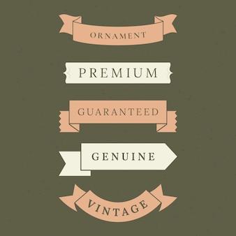 Colección de banners de calidad premium