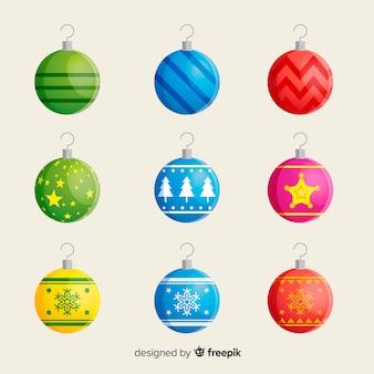 Colección bolas de navidad