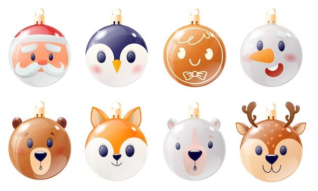 Colección bolas navideñas