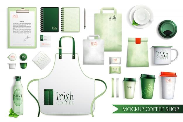 Colección de café irlandés merch