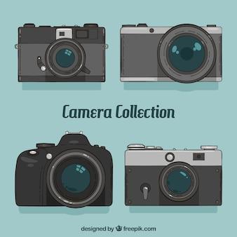 Colección de cámaras elegantes