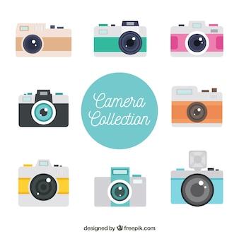 Colección de cámaras de turista