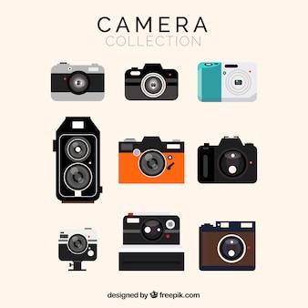 Colección de cámaras variadas