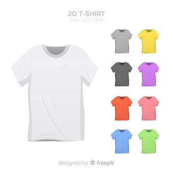 Colección de camisetas 2d