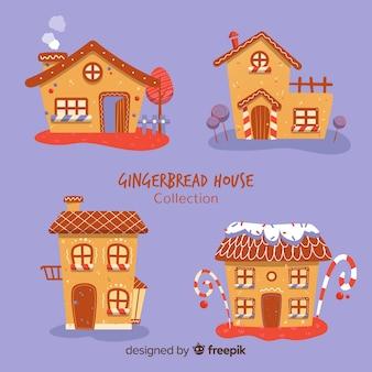 Colección casas originales pan de jengibre