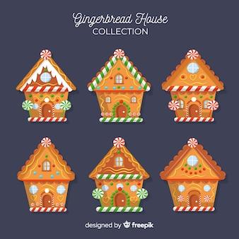 Colección casas pan de jengibre