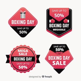Colección chapas de rebajas boxing day