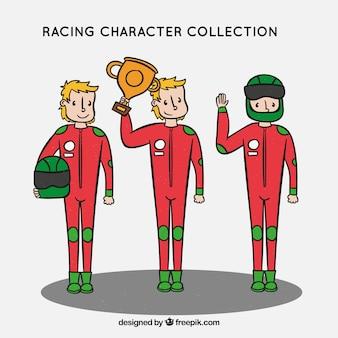 Colección de characteres de f1