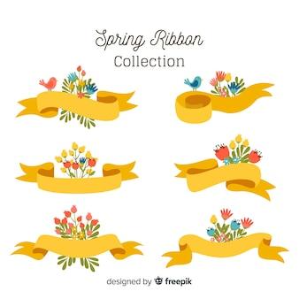 Colección cintas florales primavera