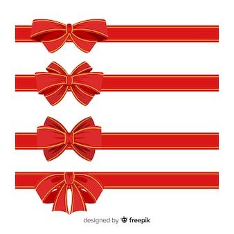 Colección de cintas de navidad ornamentales
