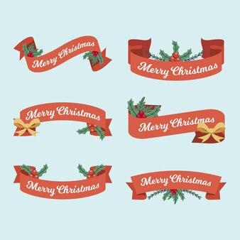 Colección de cintas navideñas vintage