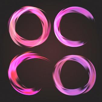 Colección circular abstracta