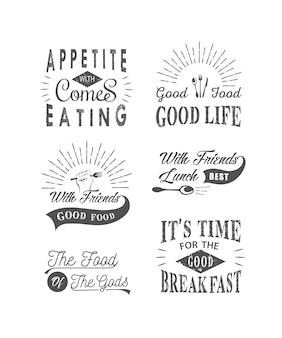 Colección de citas tipográficas