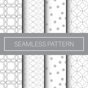 Colección clásica y moderna de patrones sin fisuras