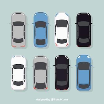 Colección de coches elegantes