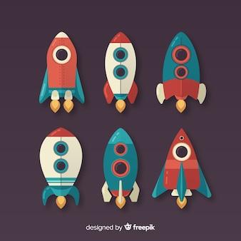 Colección de cohetes