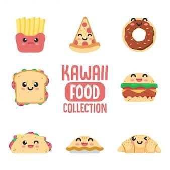 Colección de comida kawaii